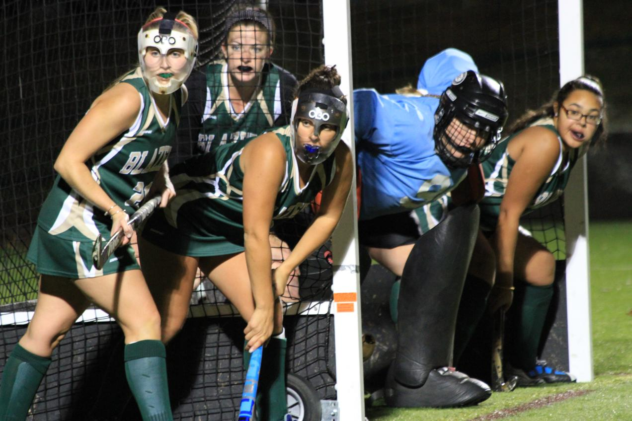 Rivier Escapes Field Hockey in Overtime