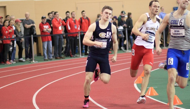 Men's Track & Field takes third at UWSP Invite