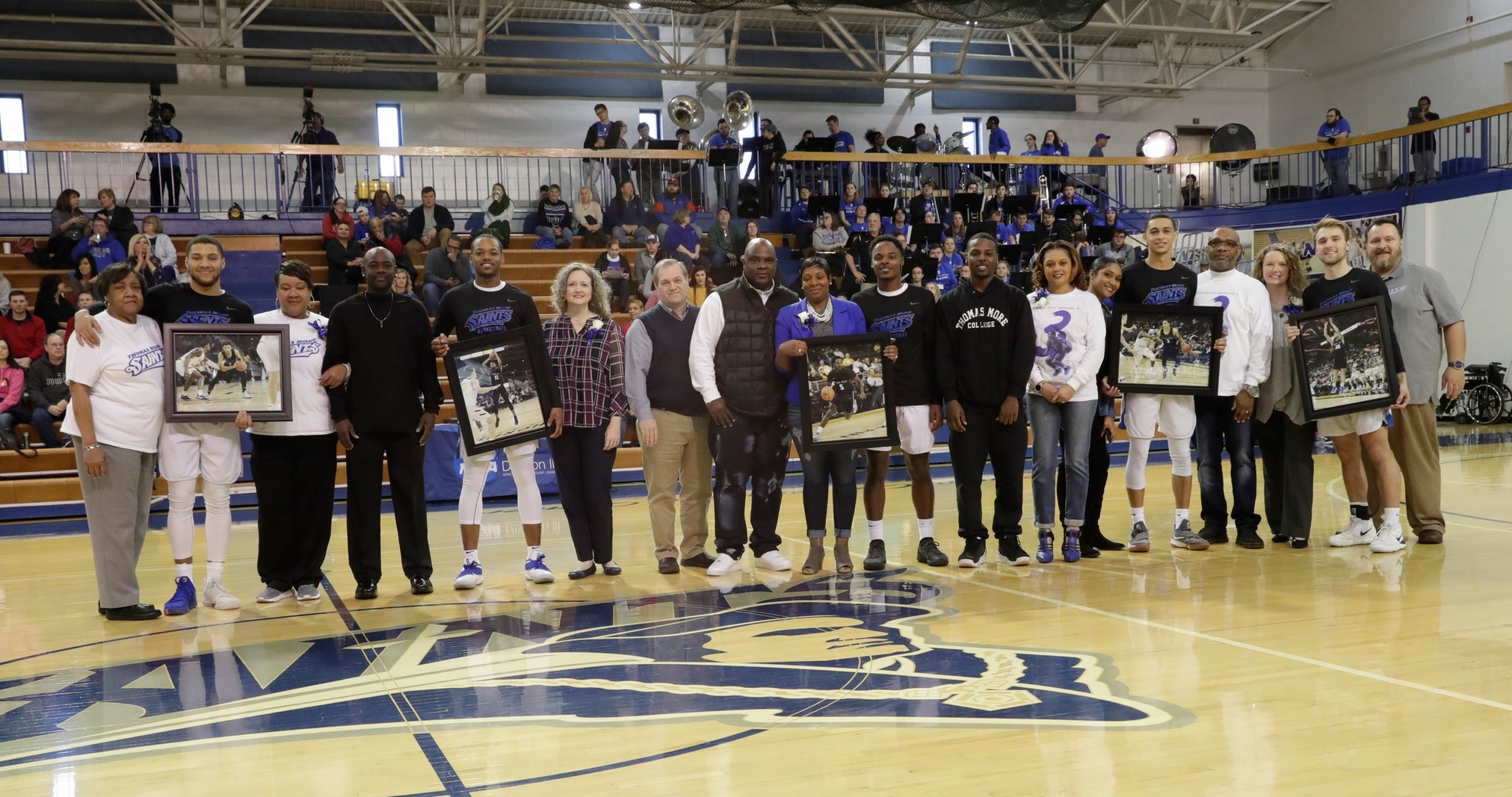 Saints Send Seniors out in Style With 81-58 Win