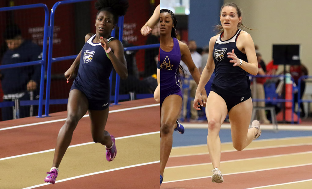 Osei, Bland Win Conference Titles on Day Two as Women's Track & Field Finish Third