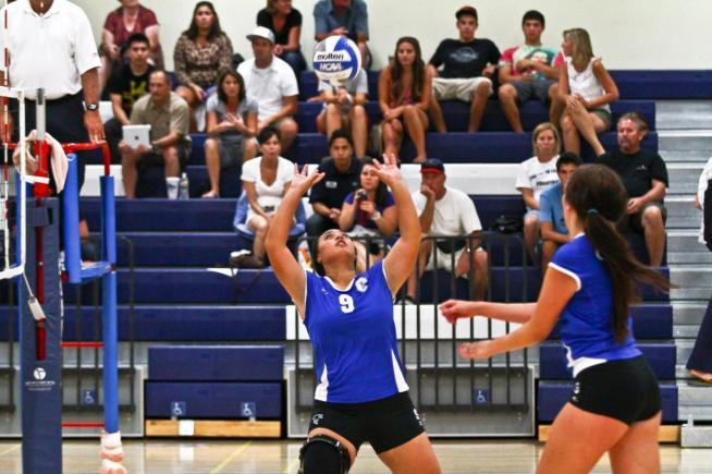 Volleyball: Falcons sweep past Los Angeles Harbor - Cerritos College