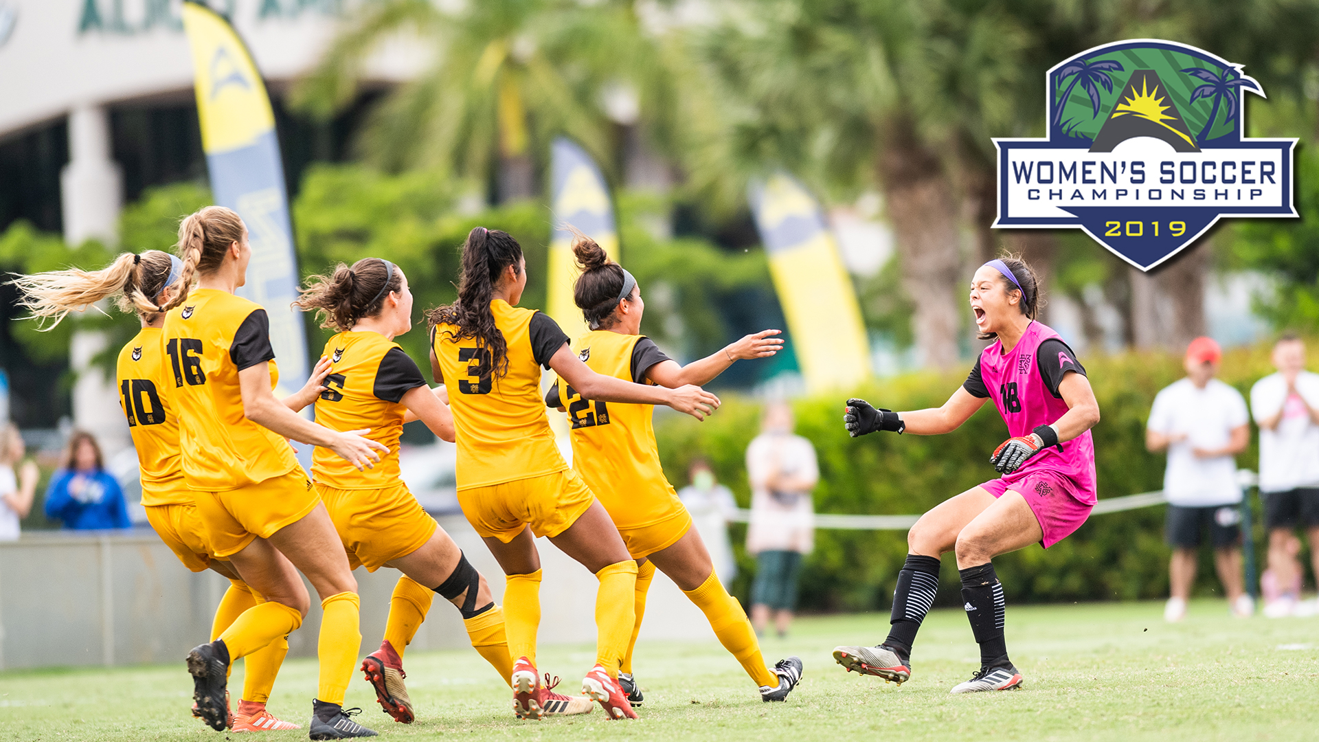 Owls Upset Top-Seeded Eagles; Advance to Women's @ASUNSoccer Championship Final
