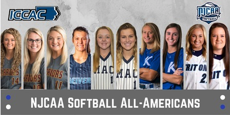 NJCAA Dishes Out All-American Honors for Softball