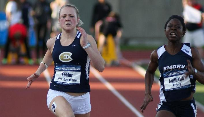 Fehler Leads Blugolds at NCAA Outdoor Track & Field Championships