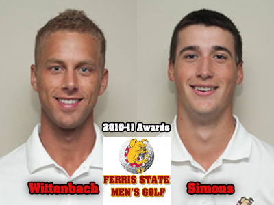 Ferris State Selects 2010-11 Men's Golf Award Recipients