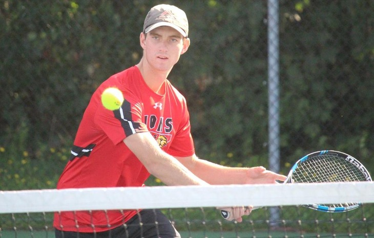 Men's Tennis Falls to Nichols 6-3 in Pivotal CCC Showdown