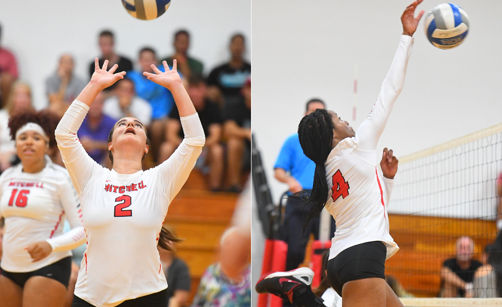 Volleyball Duo Earns NECC Honors