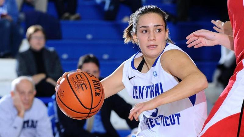 Women's Basketball Tops URI, 65-58