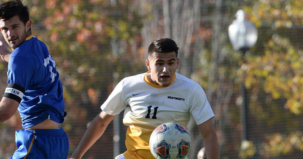 Second Half Goal Gives Nichols the Edge Over Men's Soccer