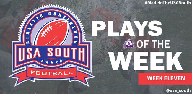 Bishop Football Again Featured on Plays of the Week