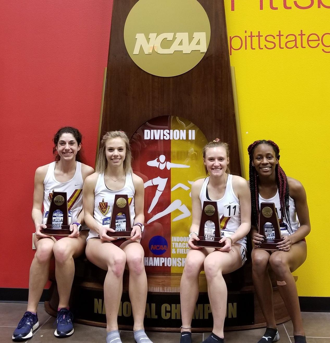 Women's Track Finds Success During First Day of Indoor Nationals
