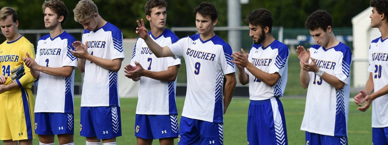 Goucher Men's Soccer Edged By Moravian In Season Finale