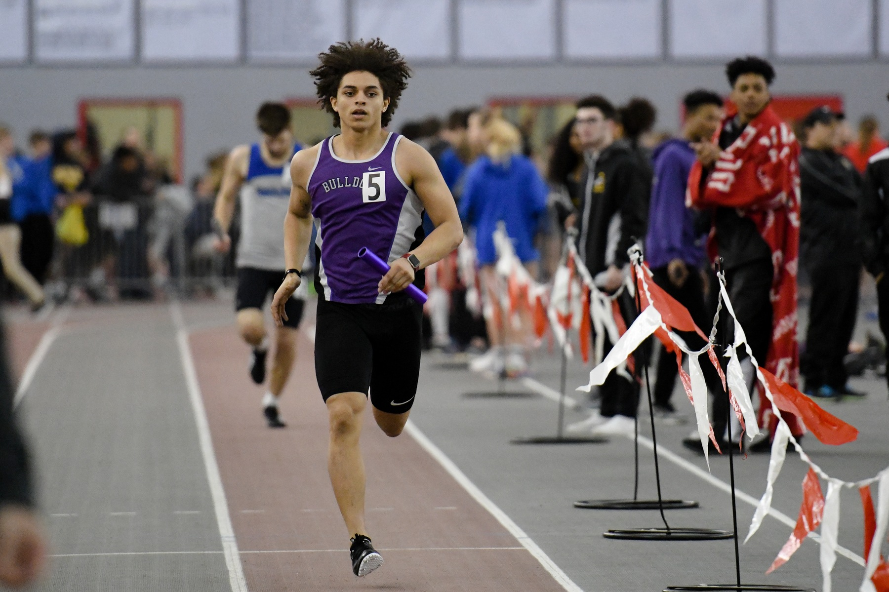 Boys Track & Field Competes at Indoor State