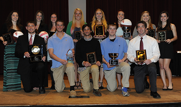 Athletic Department Hands Out Awards At Annual 'Night Of Honors'
