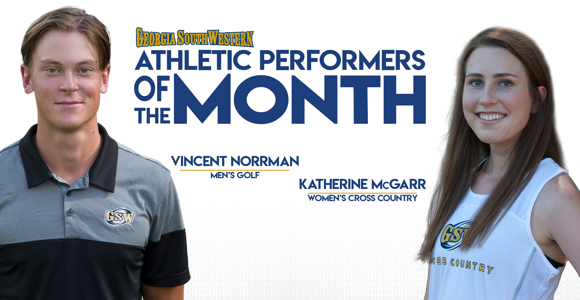 Norrman and McGarr Named Top Performers in September