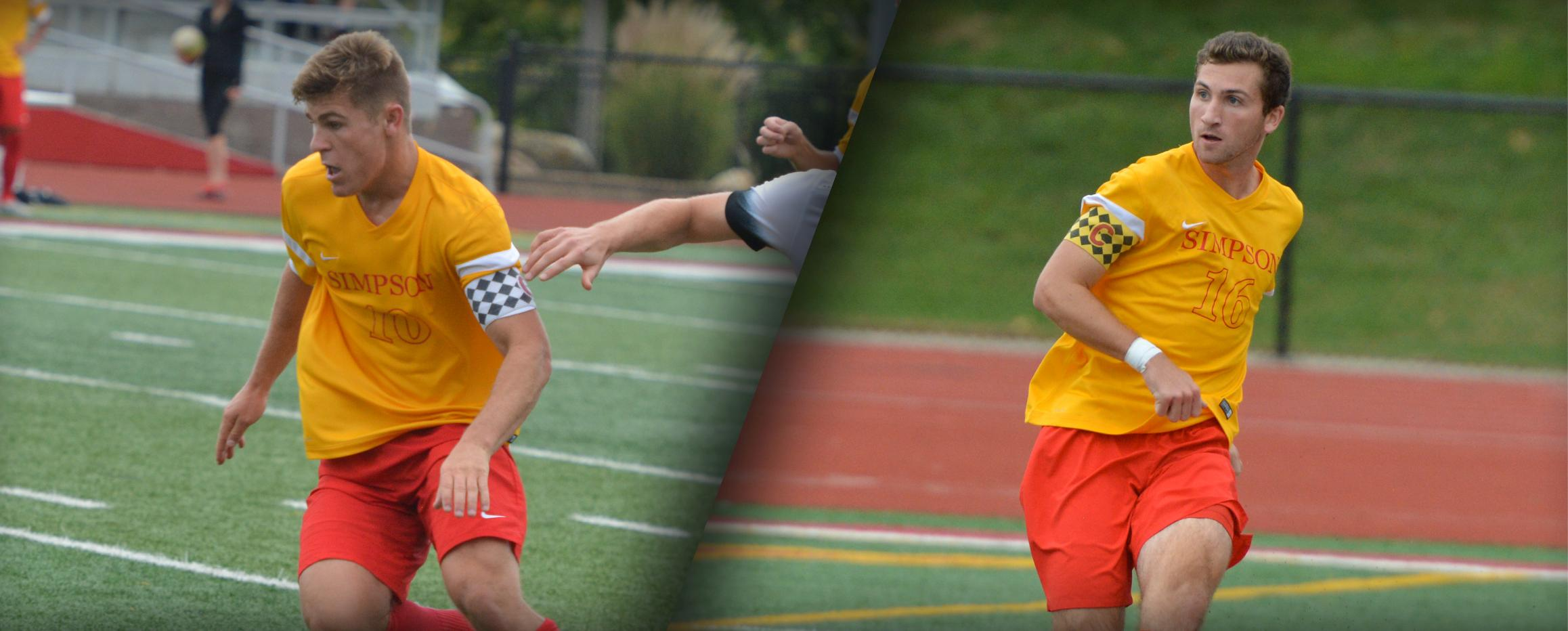 Pochop, Harry sweep IIAC Player of the Week honors