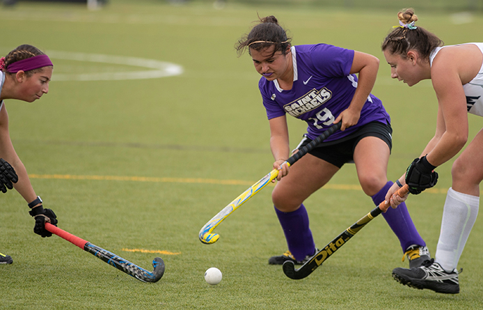 Purple Knights Pot Pair in Quick First-Half Spurt, Blank AIC, 2-0