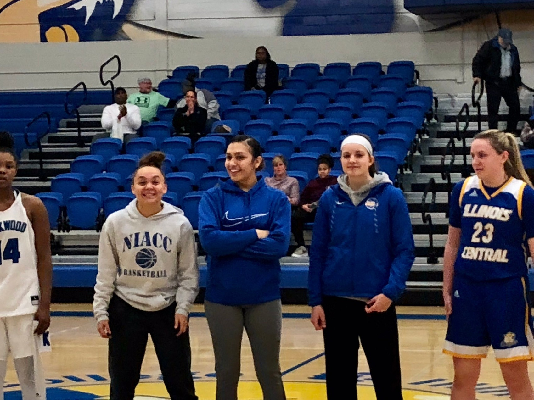 Kelcie Hale, Autam Mendez and Mandy Willems were all selected to the all-tournament team at the Cougar Holiday Tournament.