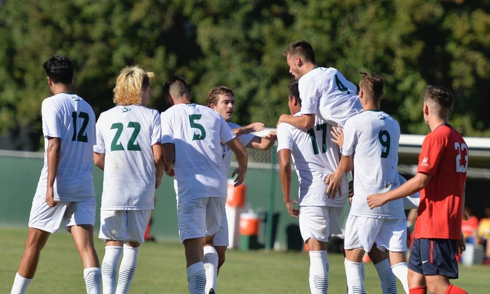 DESPITE INCREDIBLE EQUALIZER, MEN'S SOCCER FALLS AT HOME TO GONZAGA ON LATE GOAL