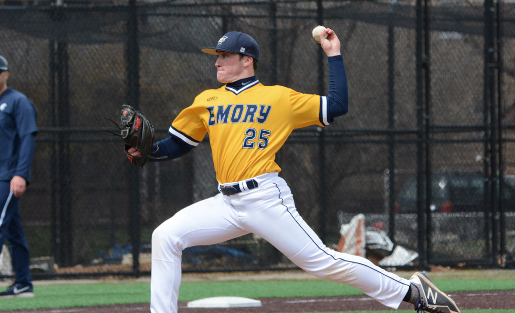 Emory Baseball Completes Four-Game Sweep of Brandeis