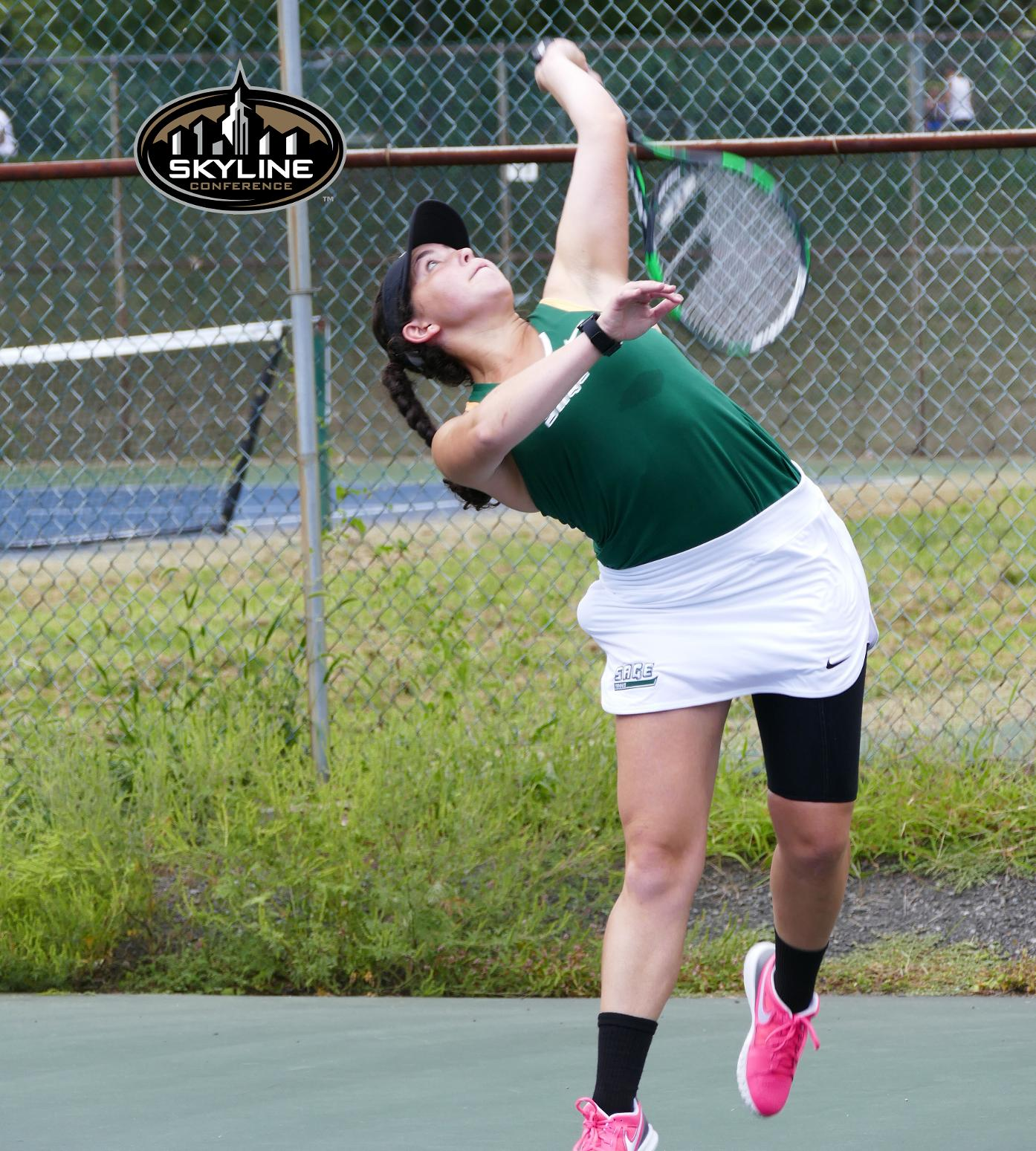 Sage's Melissa Estremera Named to Skyline Conference Honor Roll in Women's Tennis