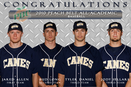 GSW baseball places four on PBC All-Academic Team