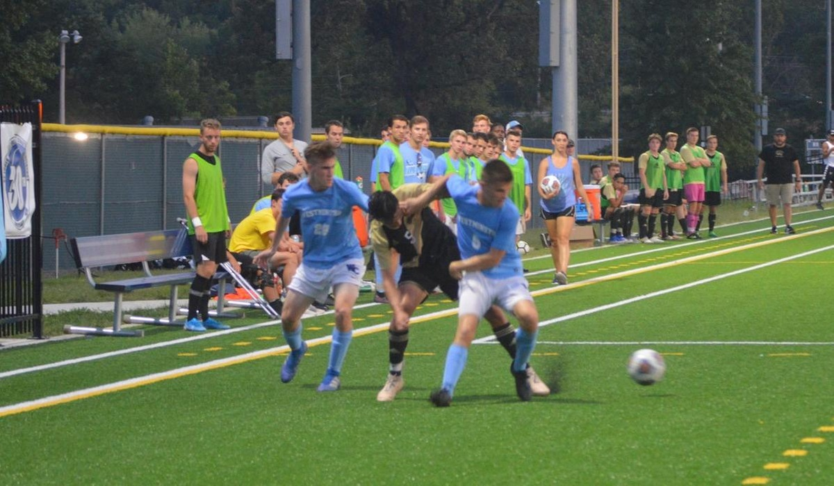 Nebraska Wesleyan Narrowly Bests Westminster Men's Soccer