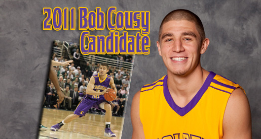 Swansey nominated for the 2011 Bob Cousy  Award as one of the nation's top point guards