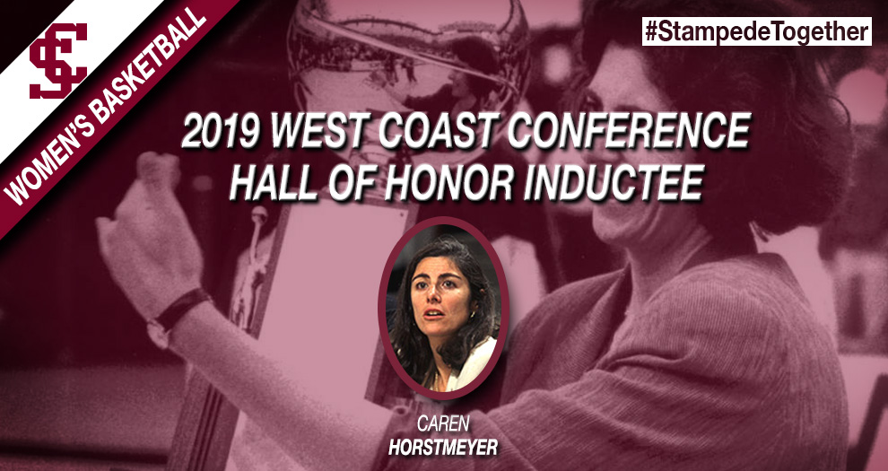 Former Women's Basketball Player, Head Coach Horstmeyer to Enter WCC Hall of Honor