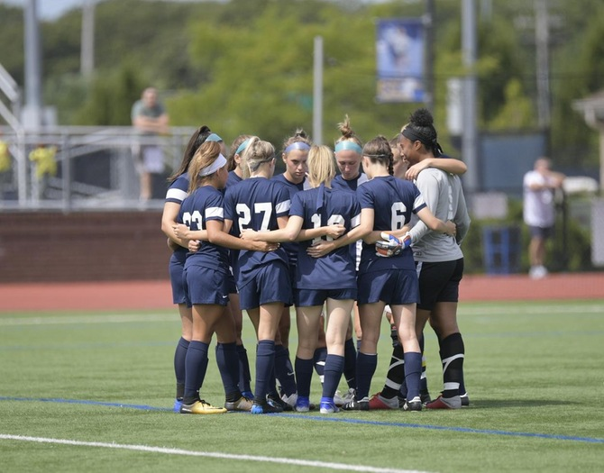 Women's Soccer Season Ends with 2-1 Loss to Manhattanville