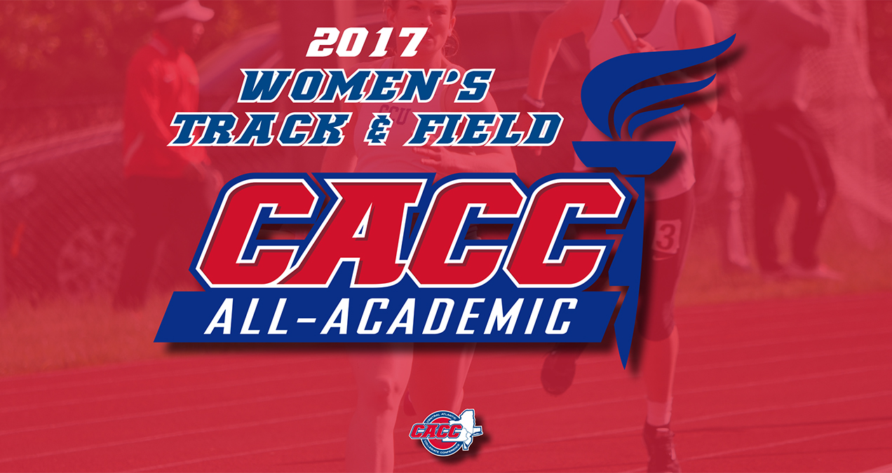 28 Student-Athletes Earn Accolades as Members of 2017 CACC Women's Track & Field All-Academic Team