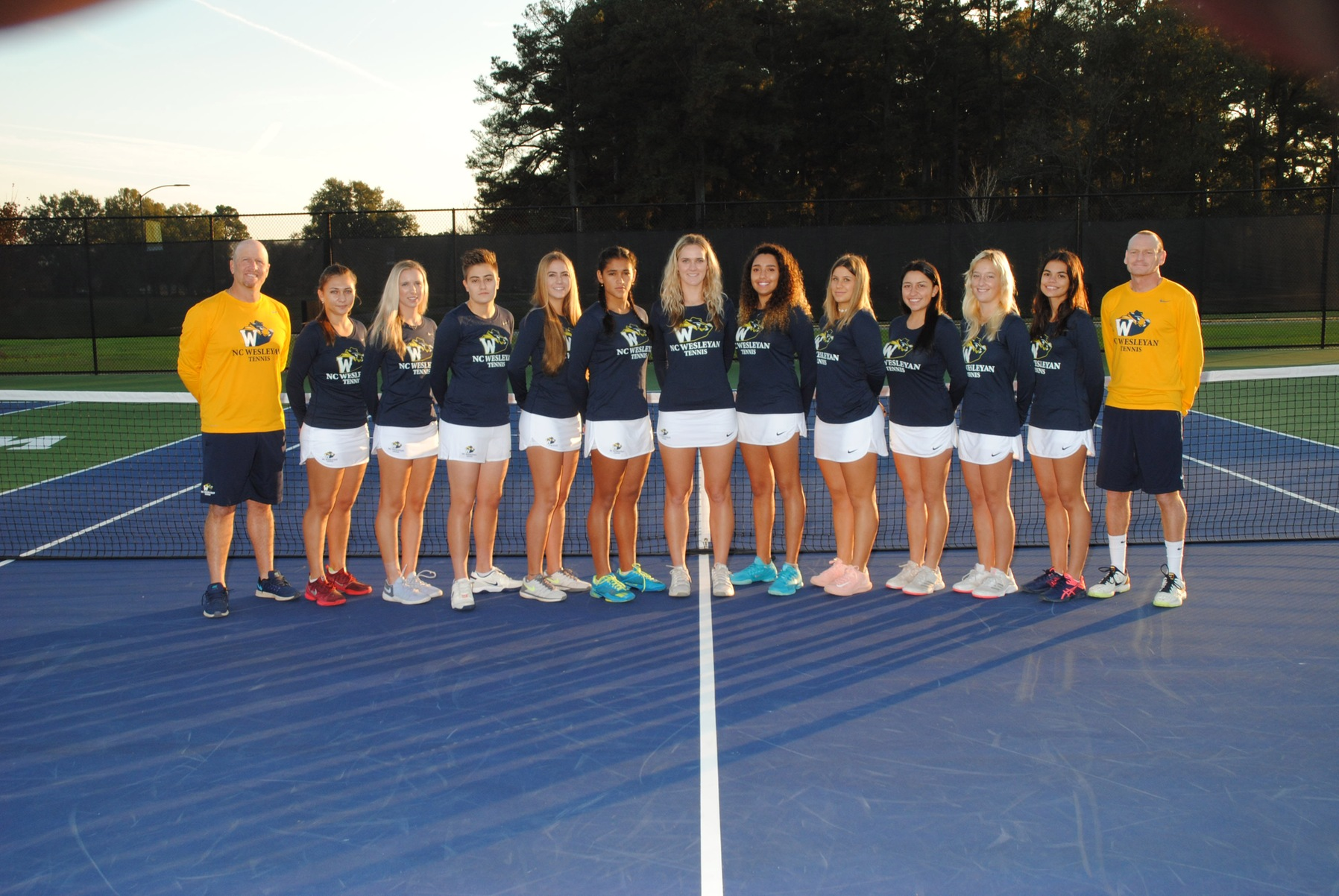Lady Bishops Tennis Complete Perfecto vs. Peace