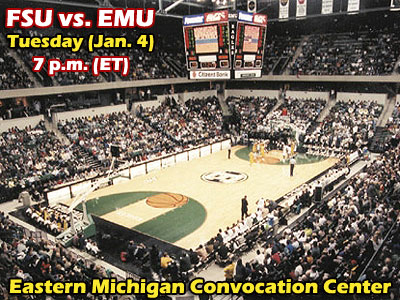 FSU Men To Visit NCAA-I Eastern Michigan