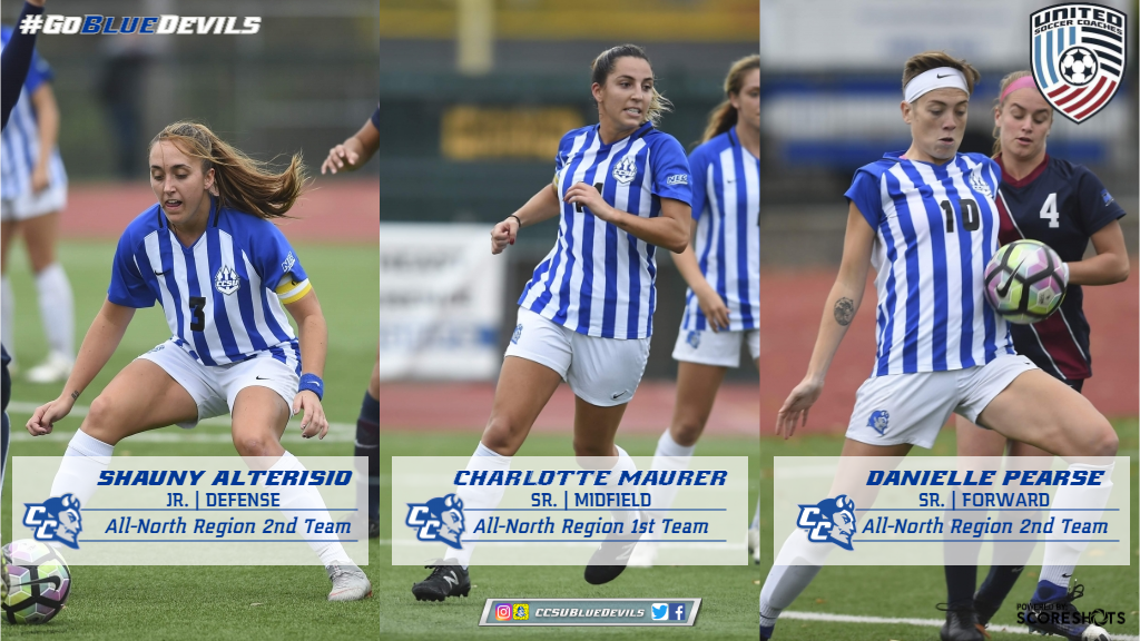 Women's Soccer Trio Earn All-Region Honors