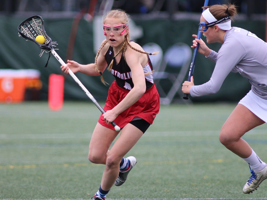 Schmitzer Dominates the Midfield, CUA Earns, 18-10, Victory Over Rowan