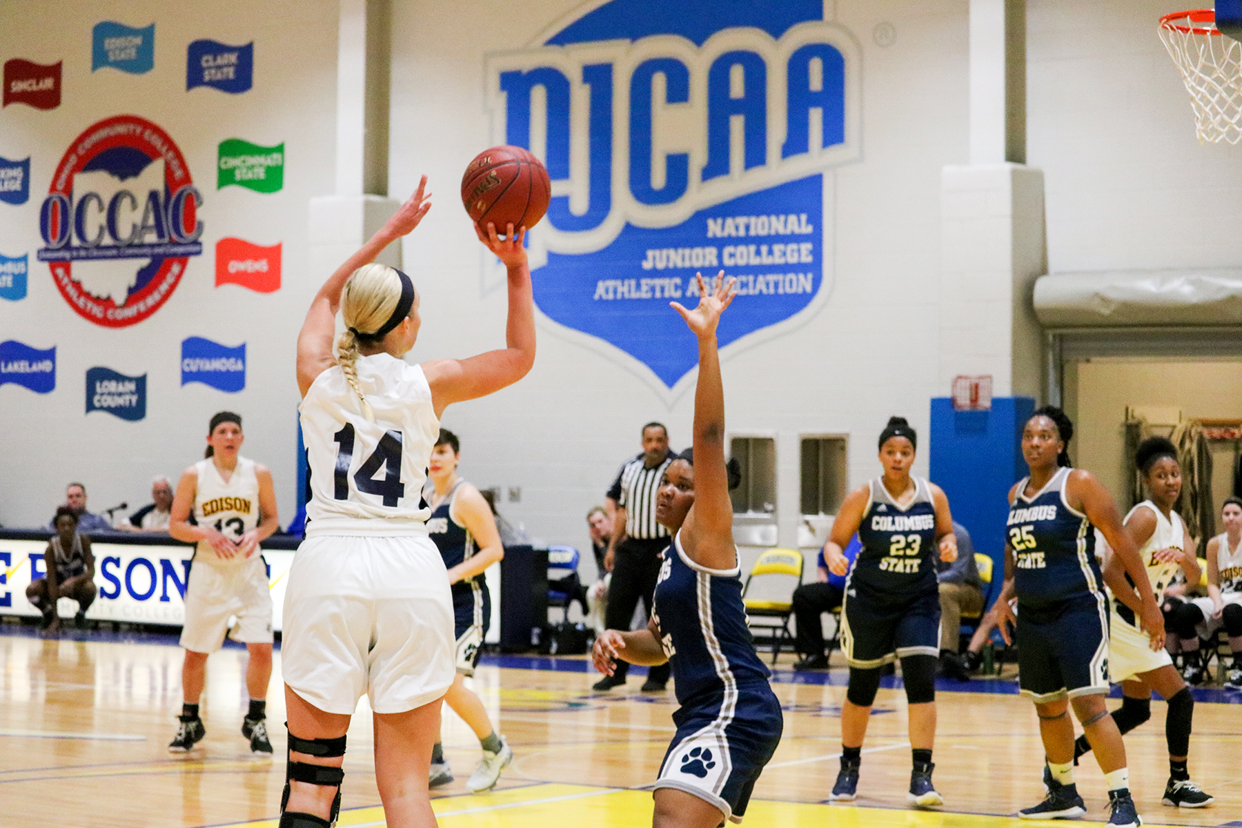 Edison State Women Defeat Clark State