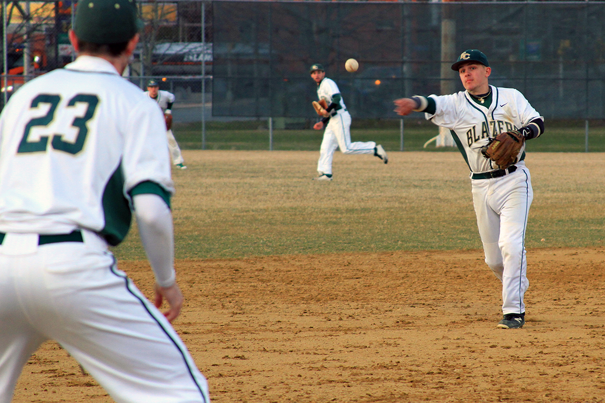 Blazers Come Up One Hit Short In NECC Tournament Opener Against Lesley