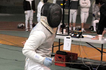 Fencing tied for 15th place after Day 2 of NCAAs