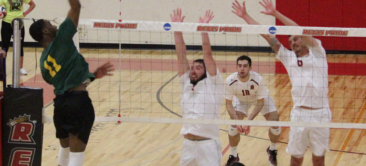 Men's Volleyball Dominates Southern Vermont In NECC Action