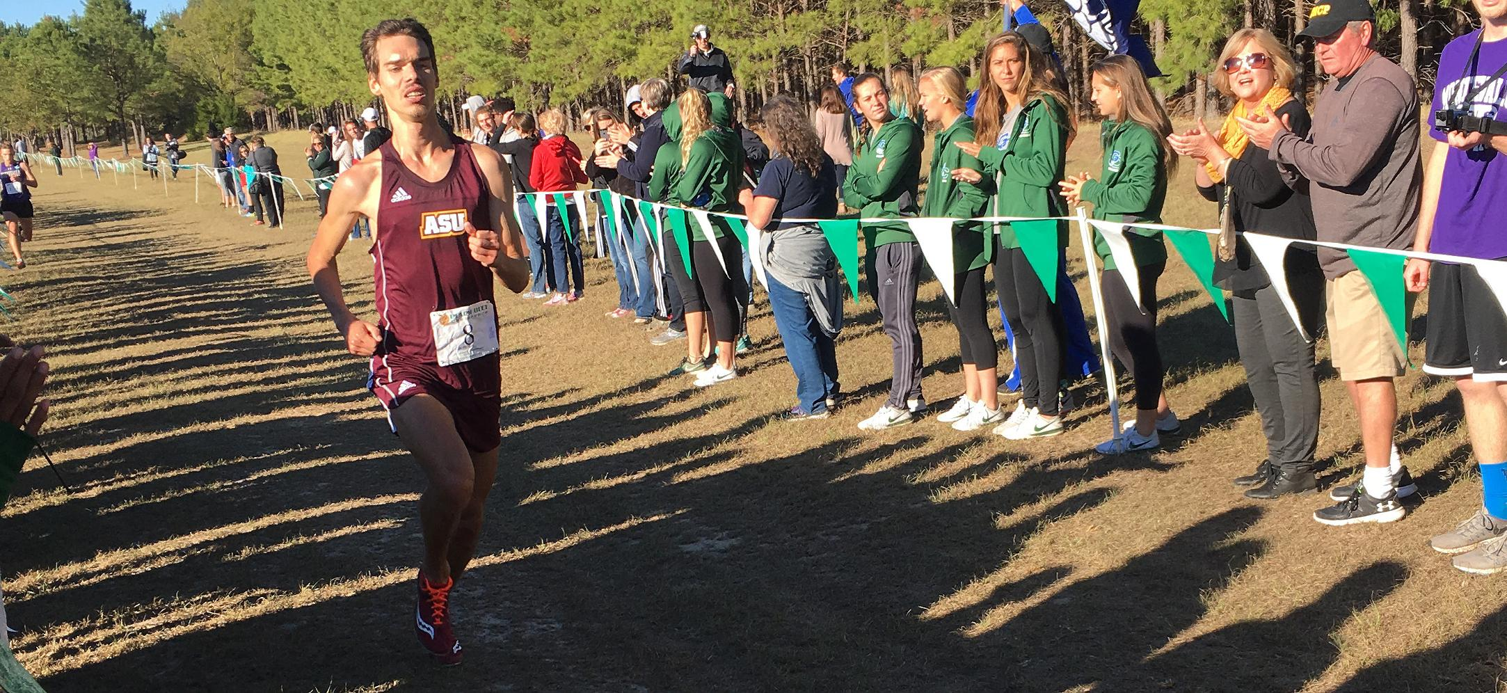 Schein Sets Program Bests As Men's Cross Country Finishes 9th At PBC Championships