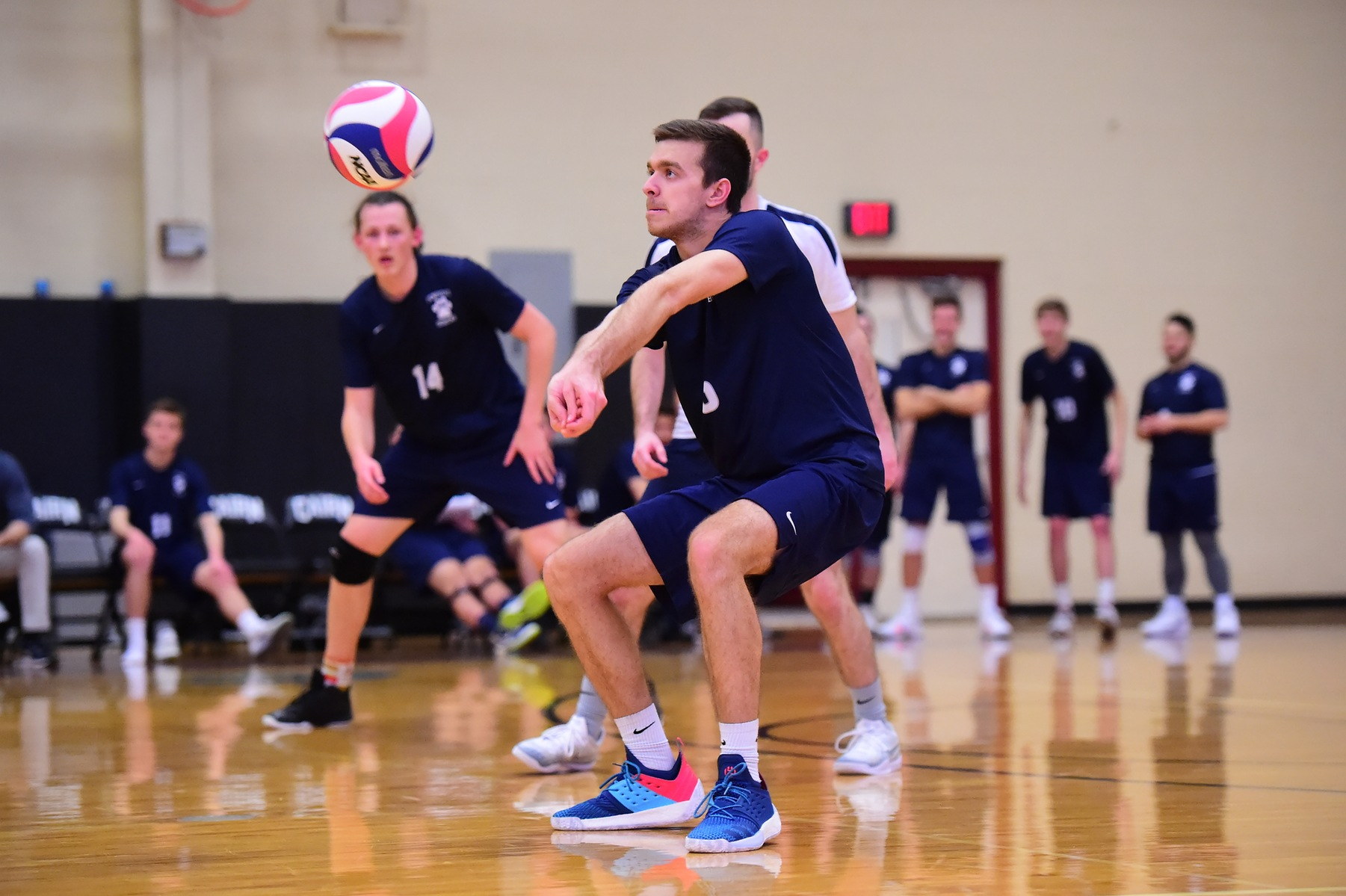 Men's Volleyball Sweeps D'Youville