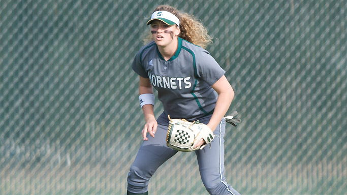 DEFENSE HURTS SOFTBALL IN 3-2 EXTRA INNING LOSS TO UC SANTA BARBARA