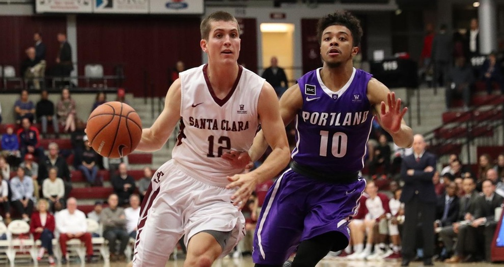 Men's Basketball Holds Off Portland, Claims Second-Straight Win