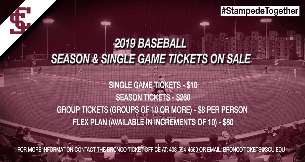 2019 Baseball Tickets On Sale Now