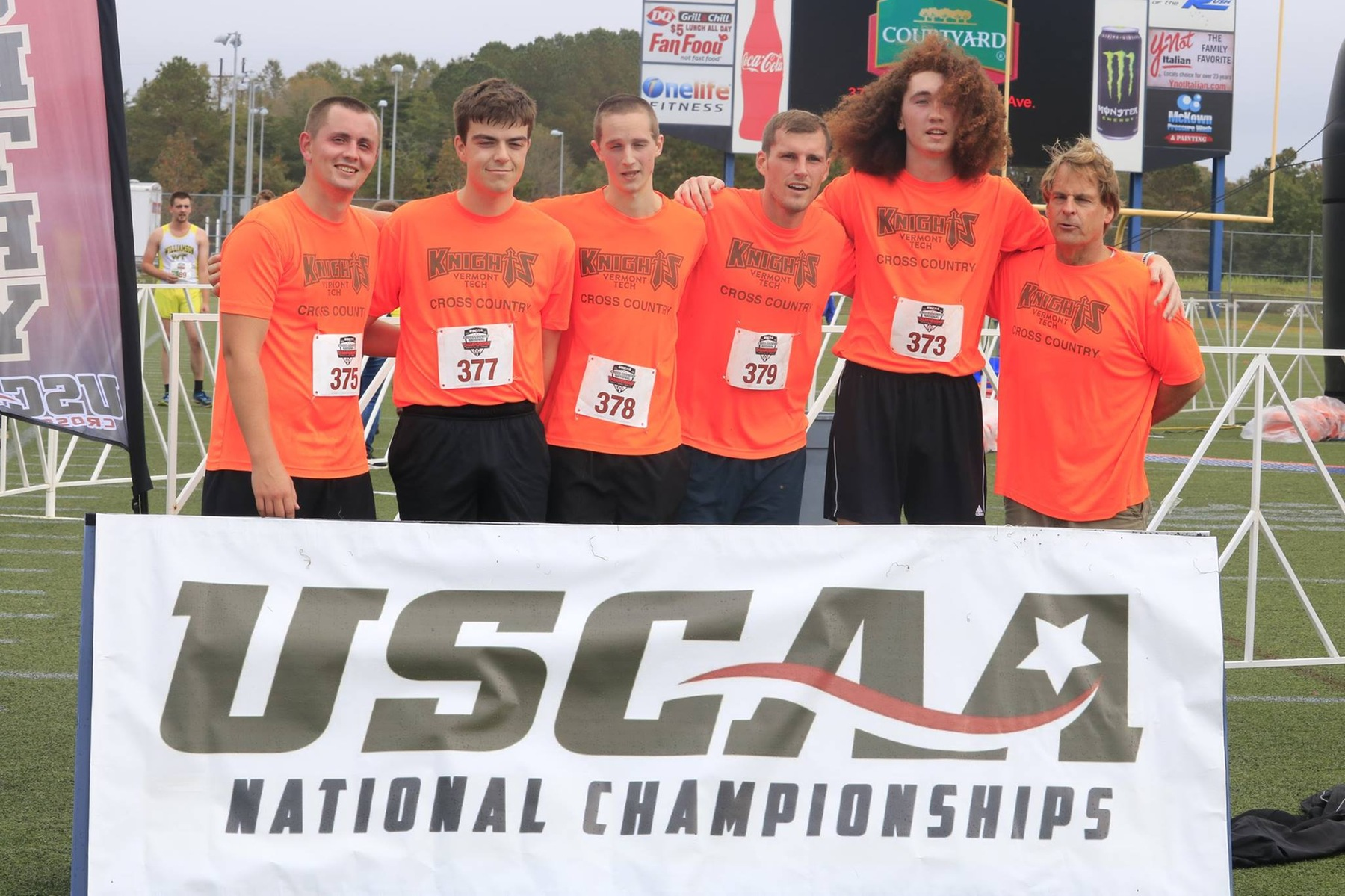 Men's Cross Country competes at USCAA National Championshp