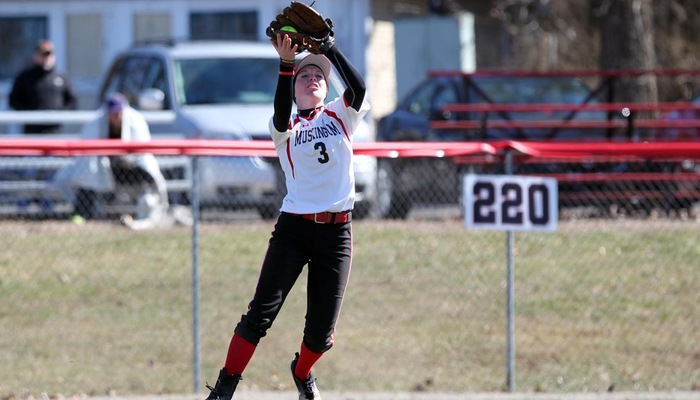 Softball sweeps at Capital to earn 20th win of the season