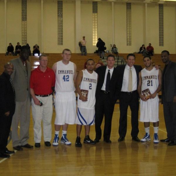 2009 Men's Basketball Team - Emmanuel College Athletics ...