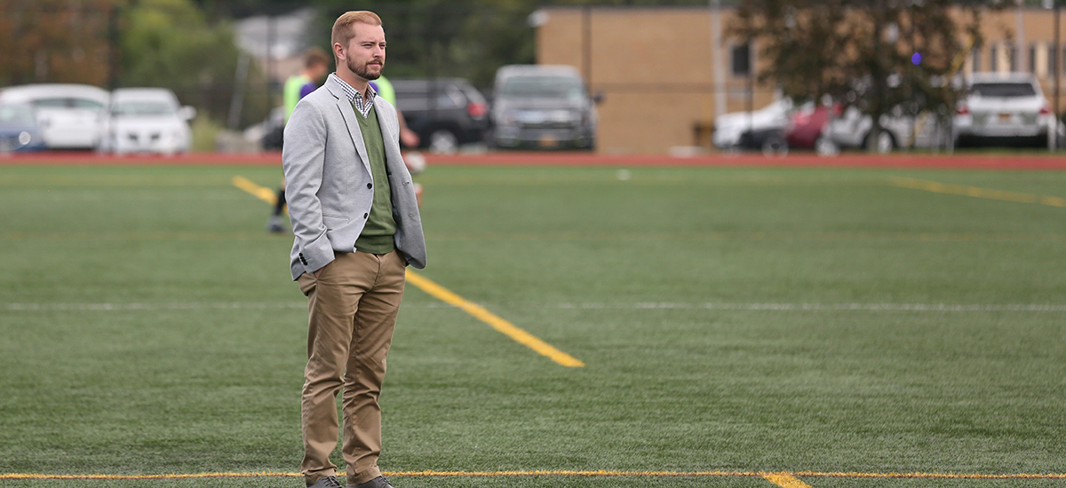 Simons steps down as Sage Men's Soccer Coach