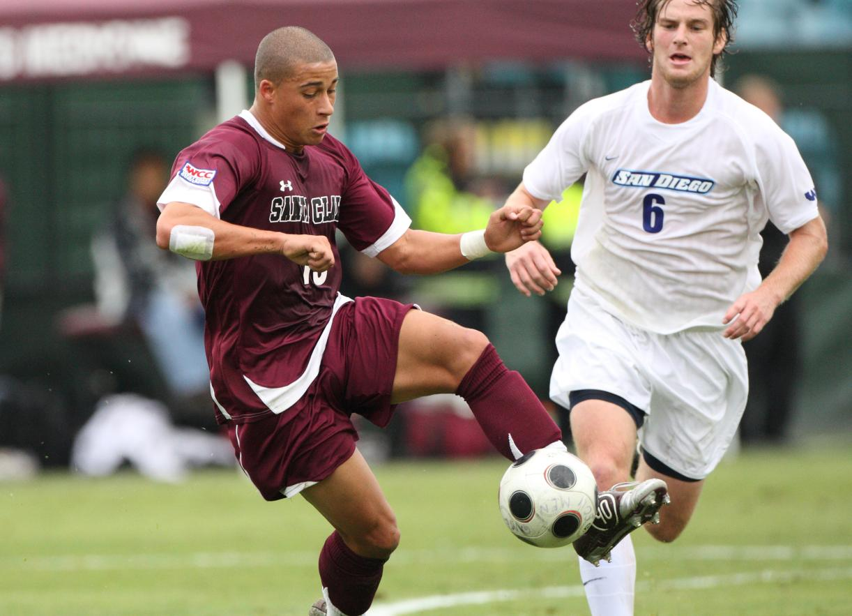 SCU vs. Stanford Saturday Night! Bay Area Classic Opens Men's Soccer Season