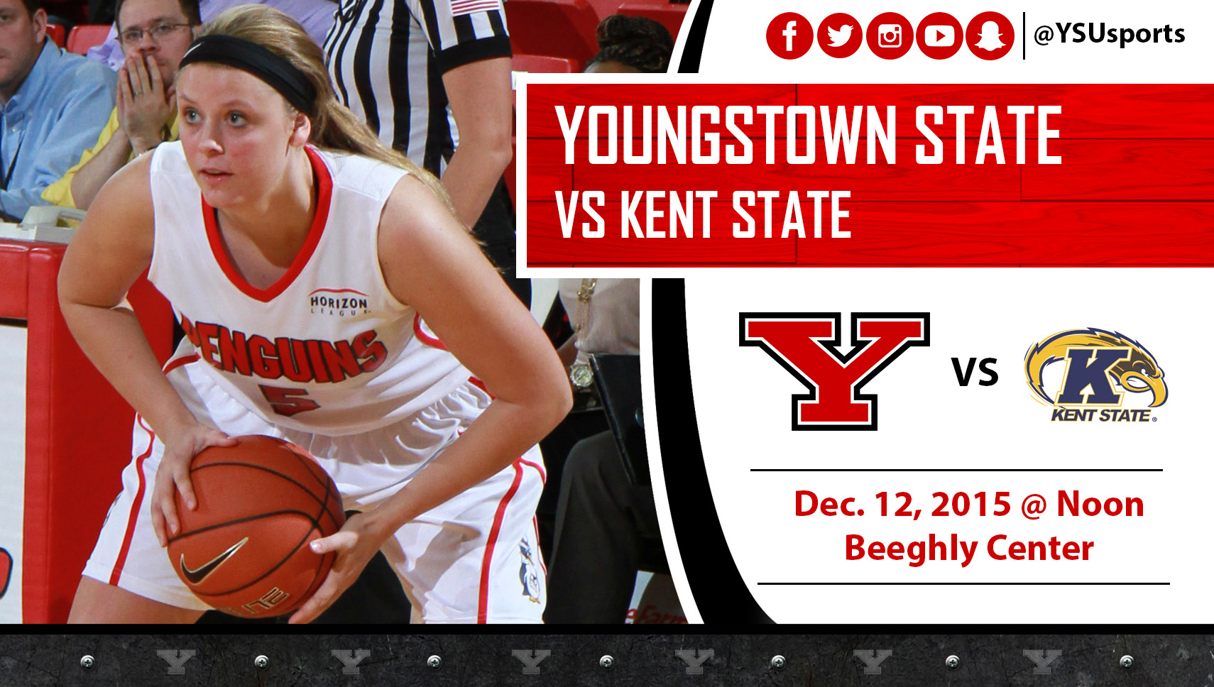 Jill Blacksten and YSU will host Kent State for just the second time since 2003 on Saturday.